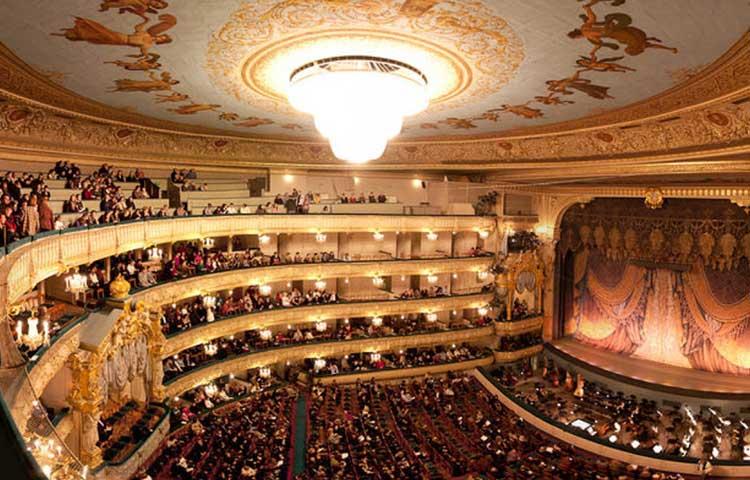 โรงละคร Mariinsky คณะบัลเลต์แห่งรัสเชีย